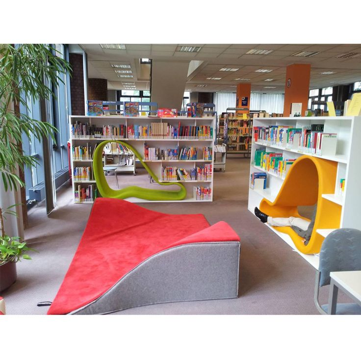 FLYING CARPET   A 3-dimensional carpet perfect for the kids or youth section in any library. Design: Ana Mir & Emili Padrós, Nanimarquina