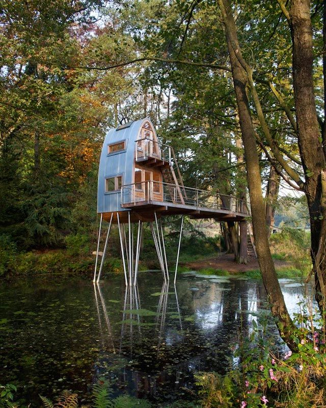 Treehouse Solling #cabin