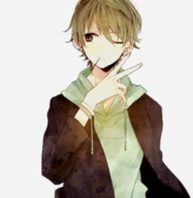Anime Guy With Brown Hair Tumblr