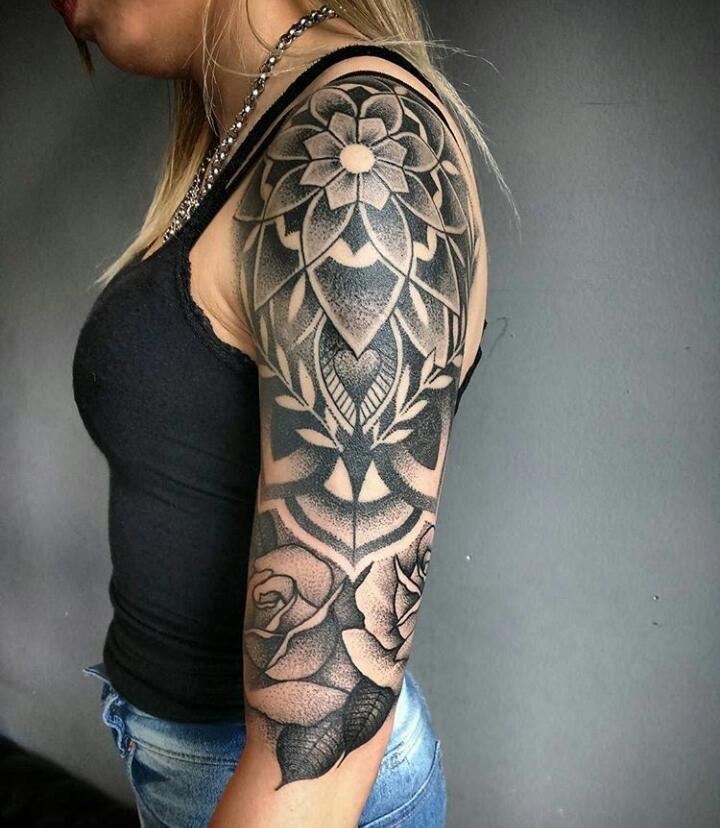 Pin On Sleeve Tattoos Geometric