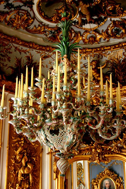 #rococo #germany #palace #interior #design #Linderhof Palace