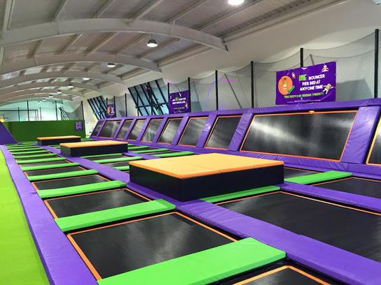 Jump Arena Trampoline Park Uk Jump As High As You Can At
