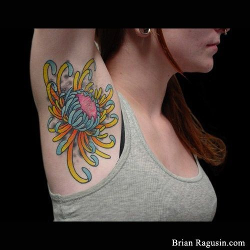 Armpit Tattoos - Inked Magazine