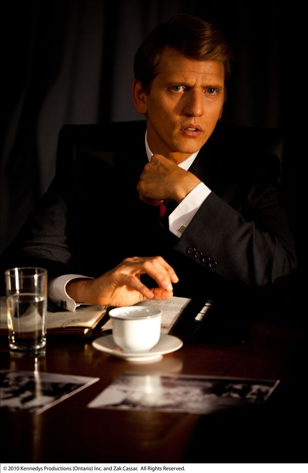 Barry Pepper as Robert F. Kennedy in The Kennedys
