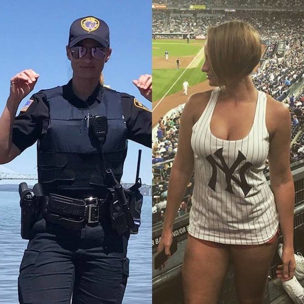 Hot New York City Police Woman Out Of Uniformnice -4697