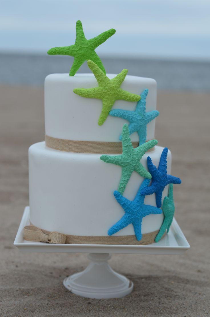 Beach Cake Decorations Buttercream