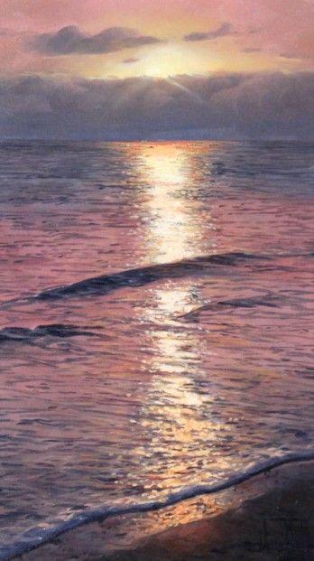 Alfredo Navarro, Sunrise, Oils | Contemporary Art