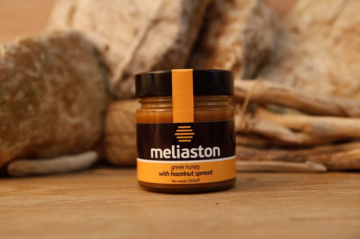 greek honey with Hazelnut Spread - MELIASTON