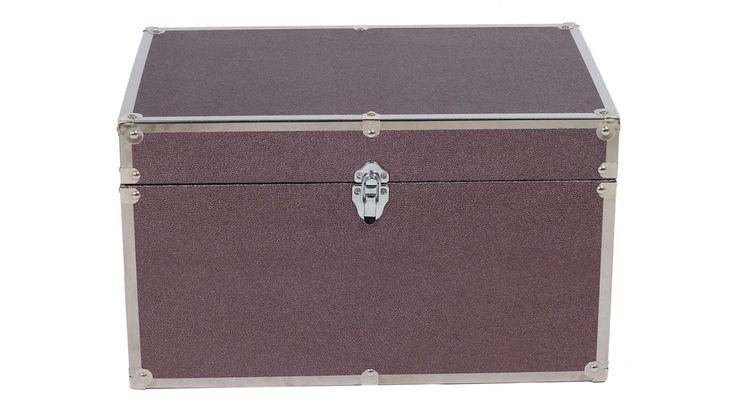 Coffre 52 8x33 5x31 2 Cm Shagreen Mm Coloris Violet Avec Images Coffre Petit Rangement Rangement