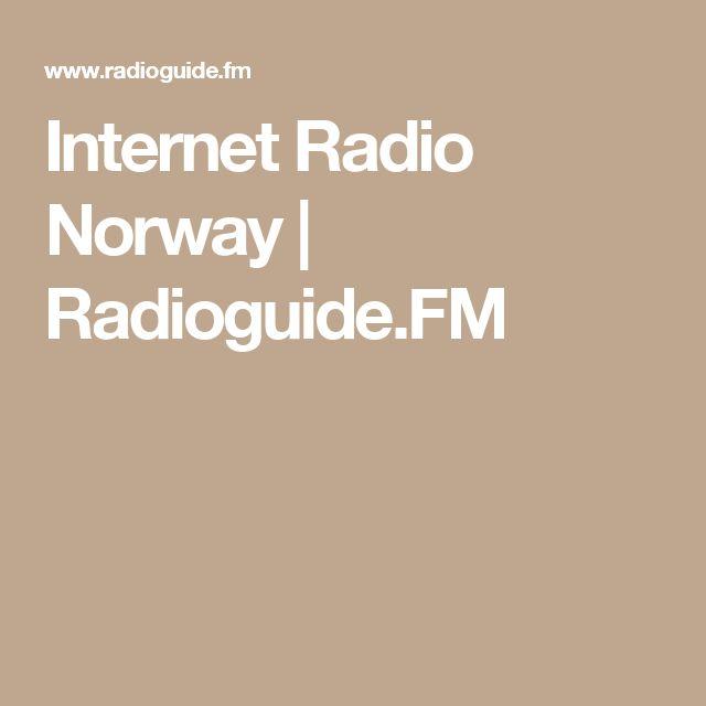 Internet Radio Norway | Radioguide.FM