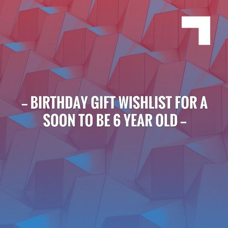 Check out my new post! Birthday Gift Wishlist For A Soon To Be 6 Year Old :) http://missporkpie.com/birthday-gift-wishlist-soon-6-year-old/?utm_campaign=crowdfire&utm_content=crowdfire&utm_medium=social&utm_source=pinterest