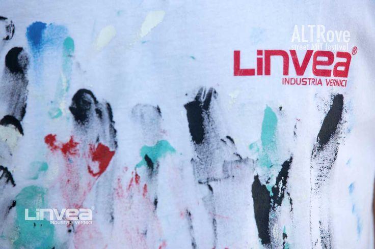 WIP ALTrove Festival_Street Art. Le opere sono realizzate attraverso vernici e materiali #Linvea ph. The Blind Eye Factory