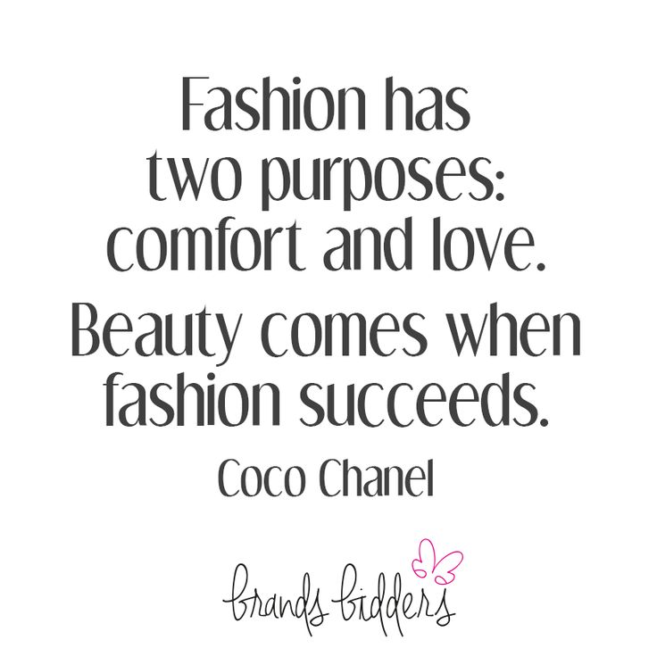 Beauty comes with fashion succeeds. #CocoChanel #quotes #QOTD #Fashion
