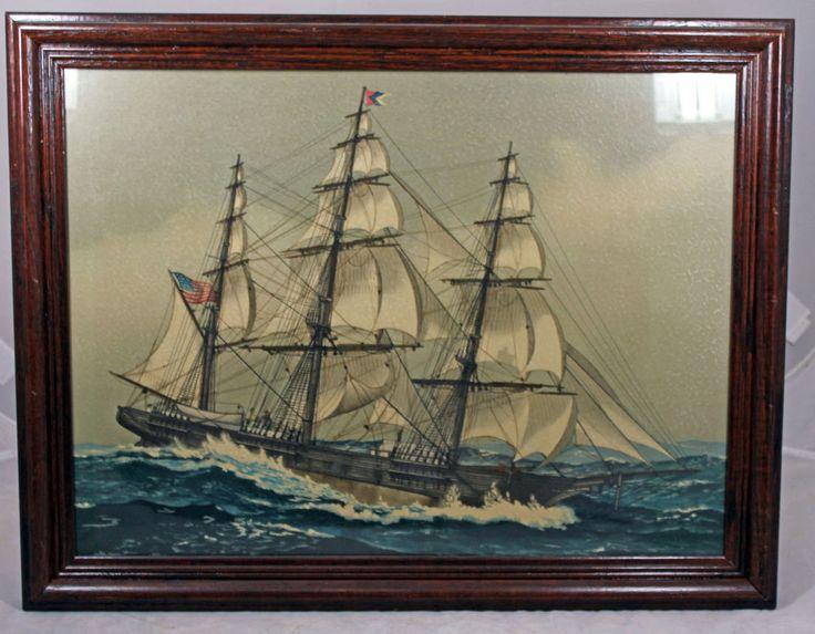 Rare Clean Antique Lithograph Print John O Hara Cosgrave