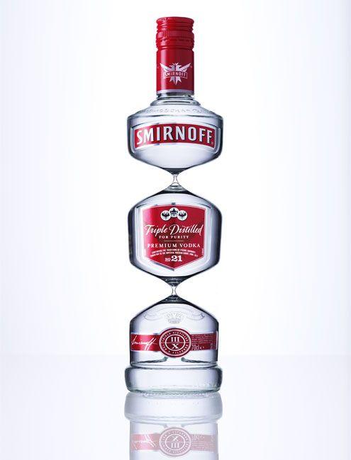 Triple distilled Smirnoff by Ray Massey