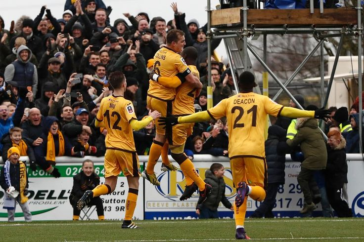 The fifth-tier English soccer teams Sutton United and Lincoln City will now face stern tests in Arsenal and Burnley.