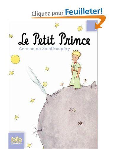 Le Petit Prince (Antoine de Saint-Exupéry).  Classique à lire.