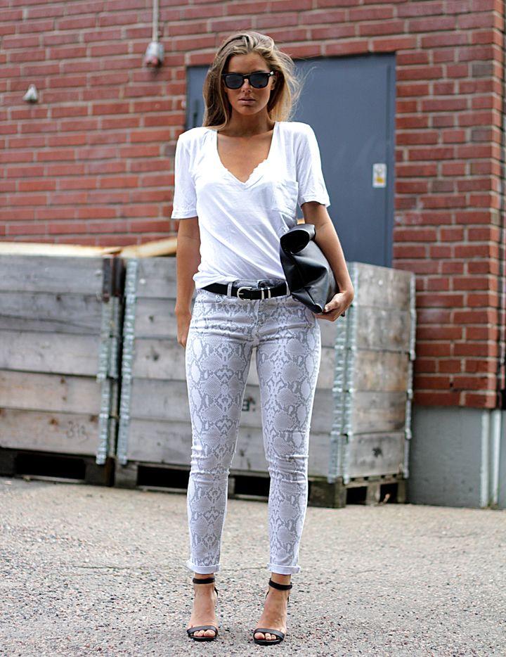 Swedish model Frida - love her style!