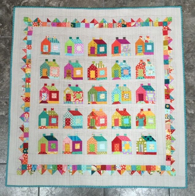 House quilt by Country Threads Chicken Scratch
