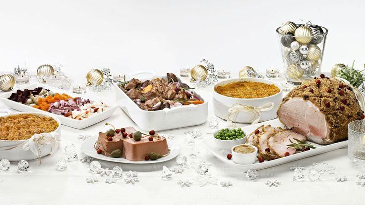 Tässä kaikki tarvitsemasi reseptit, joilla loihdit ihanat jouluruoat rakkaimmillesi. Saisiko vaikka joulukinkku tänä vuonna aivan uudenlaisen kuorrutuksen? Vinkeillämme sujuu helposti myös kinkun paisto ja sulatus.