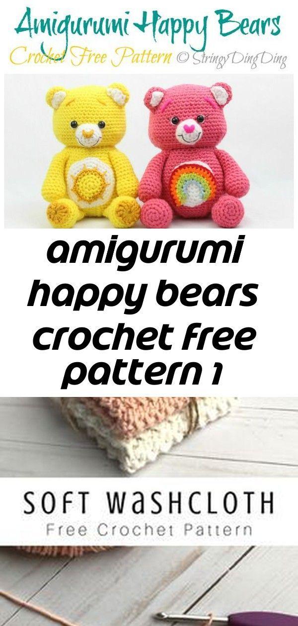 Amigurumi Happy Bears Crochet Free Pattern 1 Amigurumi Happy