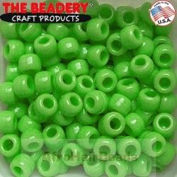 The Beadery Haarkralen 9x6mm Limoen
