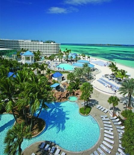 Sheraton Nassau Beach Resort, Bahamas-went there when I was a teenager...I want to go baaack so bad it was such a beautiful resort and right next town this great little town we'd go to at night where they'd have live music and dancing in the middle of the street.