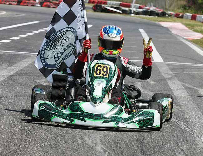 Νίκος Ιωαννου & PRT Motorsport , Πανελλήνιος Πρωταθλητής Rotax Senior 2015. Τonykart / Rotax Max