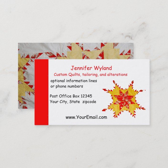 Quilting Alterations Crafts Sewing Business Card Zazzle Com Quilting Business Sewing Business Quilts