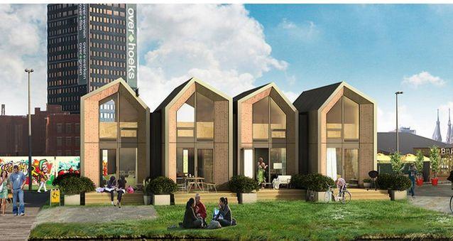 Αντιγραφάκιας: Όμορφα σπίτια που χτίζονται σε μια μέρα!!! Μια πρω...