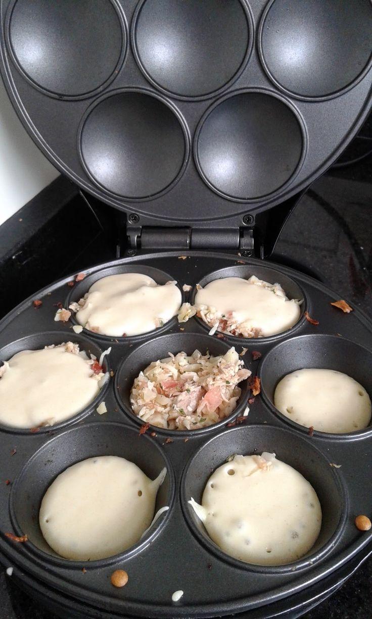 Receitinhas  salgadas pra Cupmaker (maquina de cupcake)