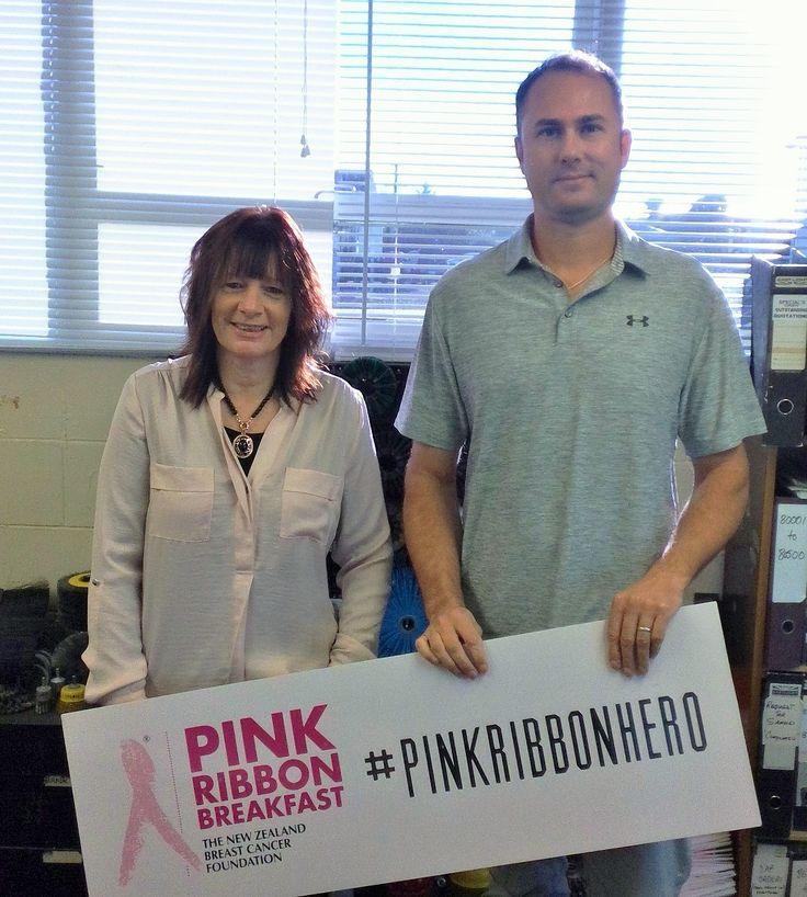 Richard and the team at Talus Industries - thank you for your support for the 2017 Pink Ribbon Breakfast - hope the Levin team enjoyed the cupcakes #pnpinkribbon #pinkribbon #pinkribbonhero