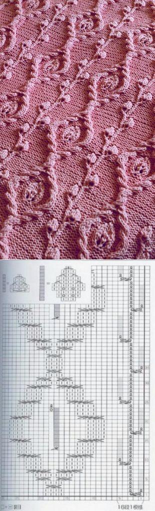 Embossed pattern spokes