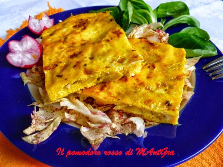 Il Pomodoro Rosso di MAntGra: Frittata di uova d'oca in carpione  http://ilpomodororosso.blogspot.it/2014/05/frittata-di-uova-doca-in-carpione.html