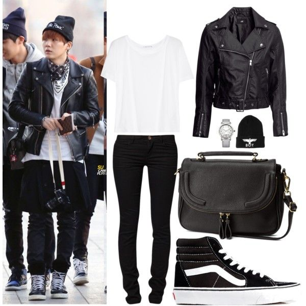 BTS Airport Fashion Suga Inspired Outfit   Korean/kpop airport fashion/style   Pinterest   My ...