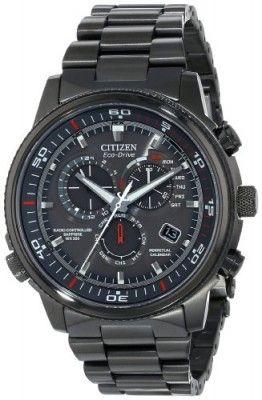 Relógio Citizen Men's AT4117-56H Nighthawk A-T Analog Display Japanese Quartz Grey Watch #Relógio #Citizen
