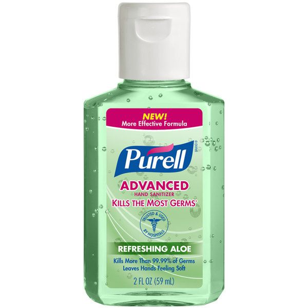 Purell 9682 24 Advanced With Aloe 2 Oz Gel In 2020 Hand