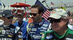 Kasey Kahne, Jimmie Johnson, Joe Nemechek (from OnPitRoad.com Photos)