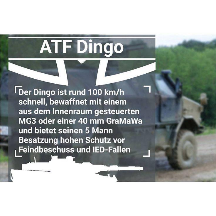 Das Allschutz-Transport-Fahrzeug ATF Dingo ist ein gepanzertes luftverladbares bewaffnetes Radfahrzeug, das unter anderem von der Bundeswehr, dem Bundesheer sowie den Armeen Luxemburgs und dem Heer Norwegens eingesetzt wird. Die DINGO-Fahrzeugfamilie ist nach dem australischen Wildhund Dingo benannt und umfasst 16 Fahrzeugvarianten. Die Hauptaufgaben des ATF Dingo sind Konvoi- und Patrouillenfahrten auf halbwegs befestigtem Untergrund. Das Fahrzeug ist hauptsächlich für Einsätze zu…