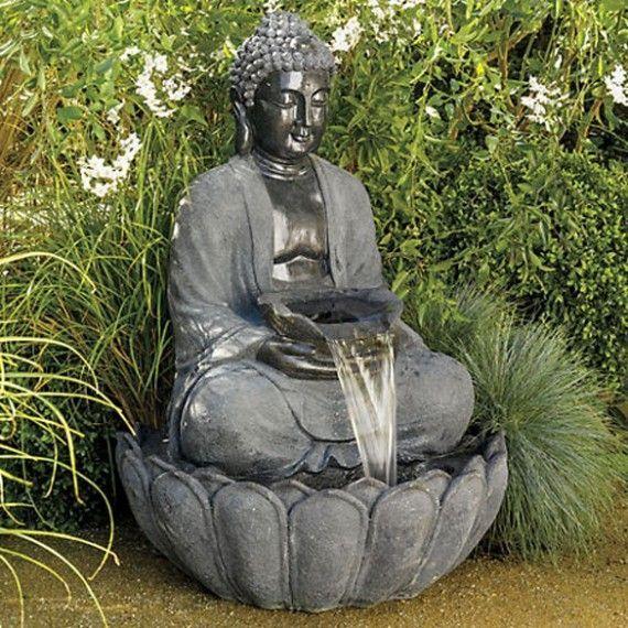 Brunnen Pinterest Zen Garten Buddha Garten Wasserbrunnen