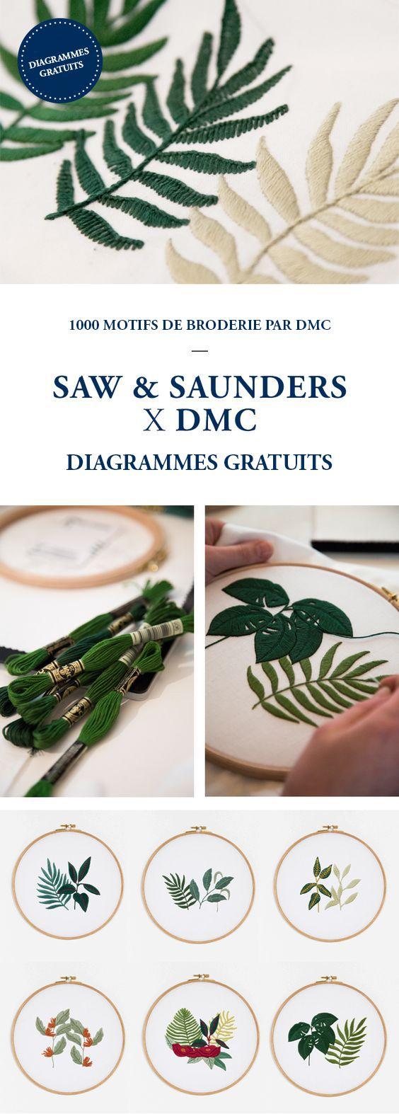 DIAGRAMMES GRATUITS - SAW & SAUNDERS X DMC