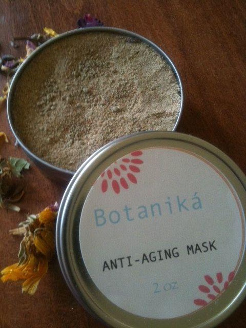 ANTIAGING Face Mask Mature Skin Wrinkles by BotanikaBeauty on Etsy, $12.95