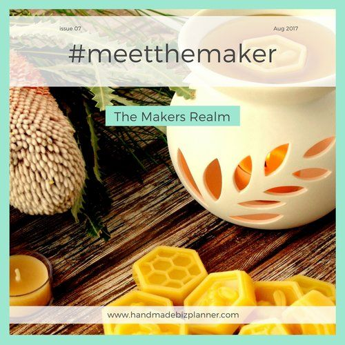 The Handmade Biz Planner meets The Makers Realm.