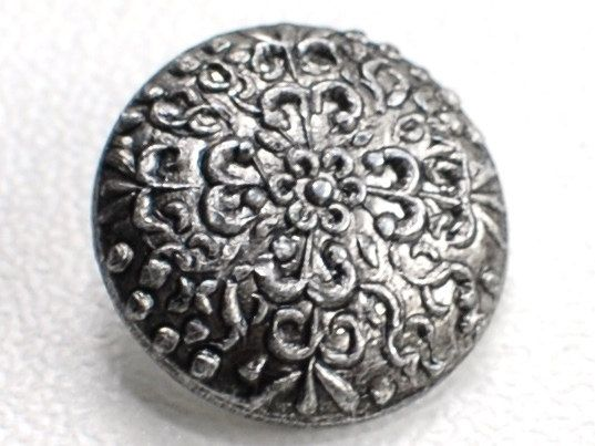 Vintage Metal buttons Set of 6 pcs with shanks by NiceStitchGifts, $4.00