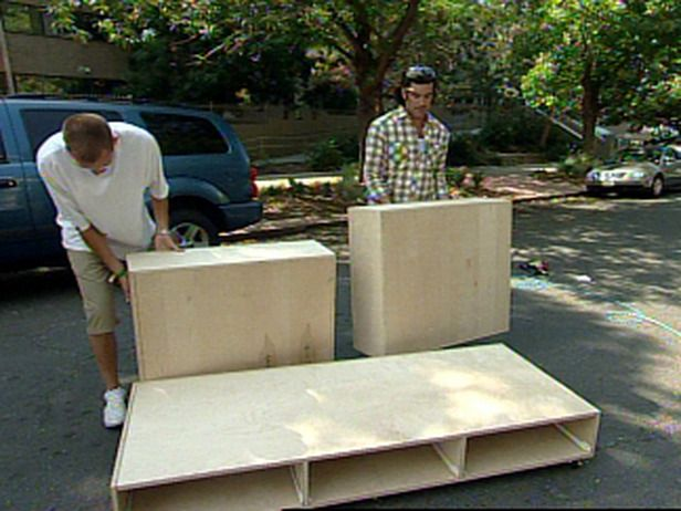 How To Build A Sofa With Storage E Diy Network Furniture Pinterest And