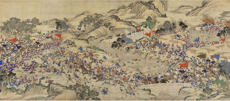 Qing reconquest of the Provincial Capital of Ruizhou during the Taiping Rebellion