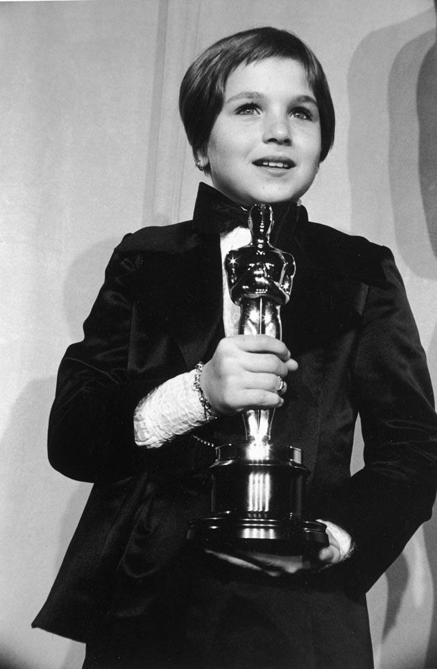 Tatum O Neal 1 974 Quot Paper Moon Quot Wins An Oscar Aged 10