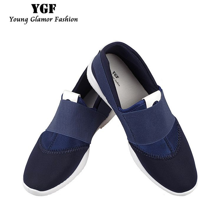 YGF Fashion 2017 Men Shoes Summer Shoes Breathable Canvas Shoes for Men Slip on Casual Shoes Patchwork Men Loafers #Affiliate