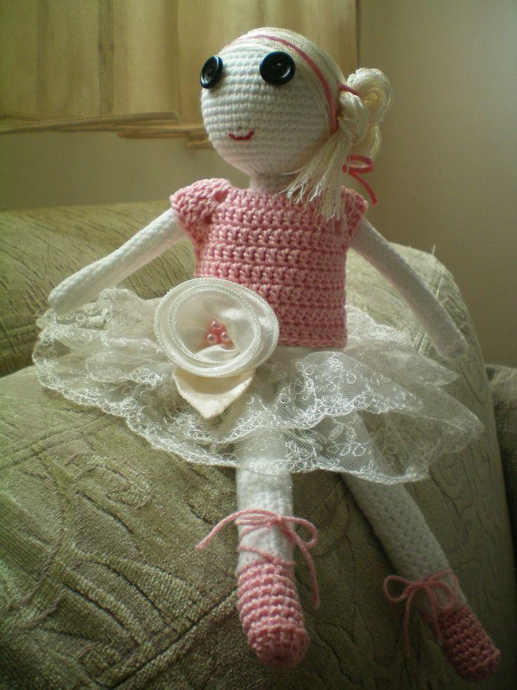 my little cute puede crochet girl