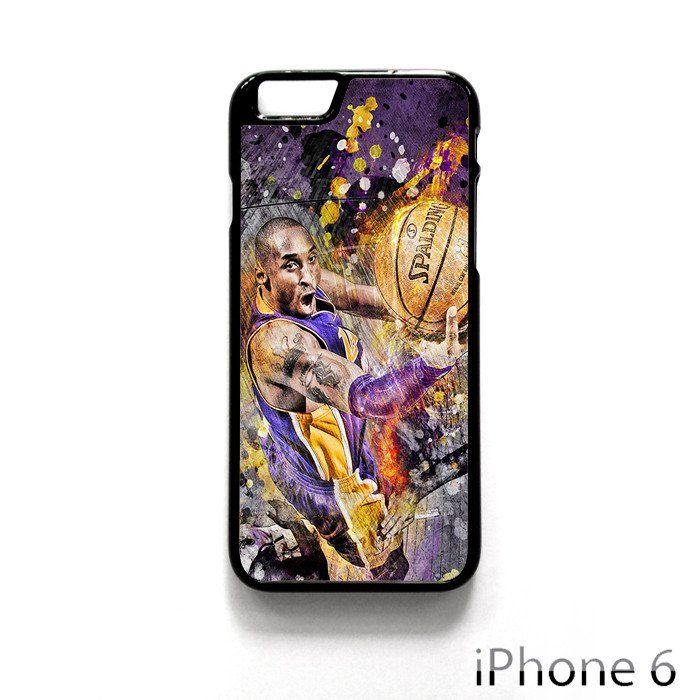 Kobe Bryan Spalding Basketball for Iphone 4/4S Iphone 5/5S/5C Iphone 6/6S/6S Plus/6 Plus Phone case